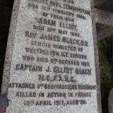 James Elliot Black, MC -  Monument - Epsilon
