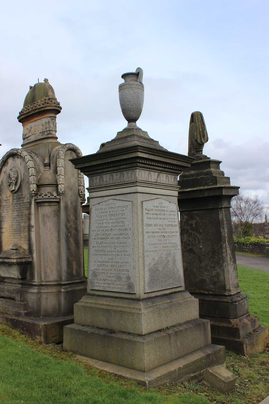 Adrian Andrew Forrester Monument