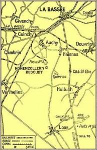 Battle of Arras Location