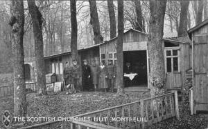 The Scottish Churches Hut at Montreuil, 13km from Etaples.