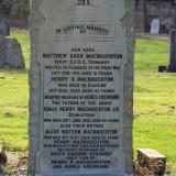Matthew Barr Macnaughton  - Quartus - Monument