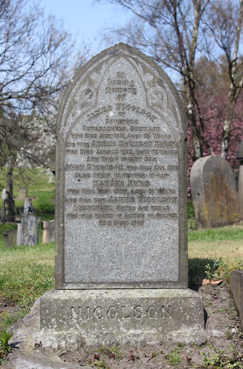 James Nichoson - Eta Glasgow Necropolis