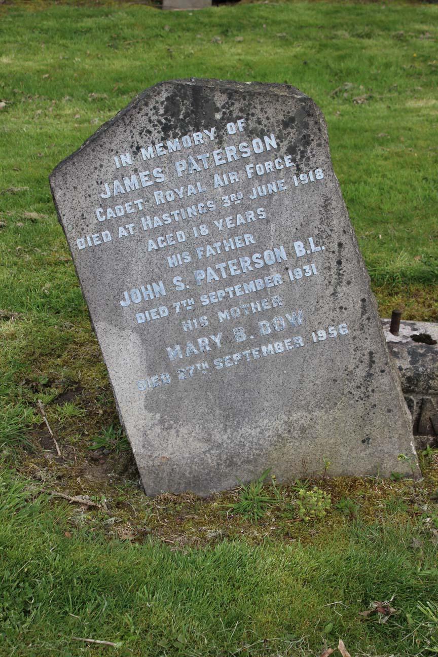 James  Paterson  Primus Glasgow Necropolis
