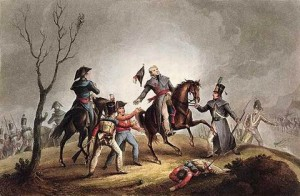 Death of Lt-General Sir John Moore (1761-1809) on 17th January 1809 at Corunna