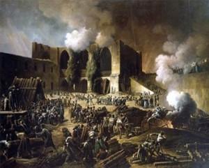 The Siege of Burgos Castle