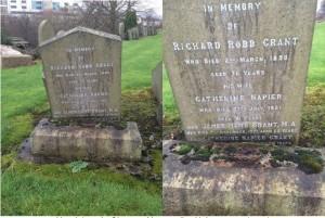 Grant Family Headstone
