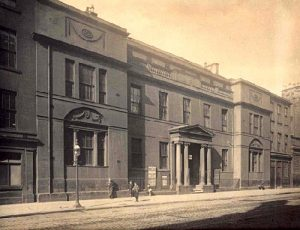 Andersonsian University, George St. Foucart's first fencing academy and gymnasium