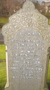 Roy Family Grave