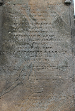 Norman Macleod Adam - Inscription 2