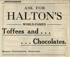 Messrs Halton Ltd Advert
