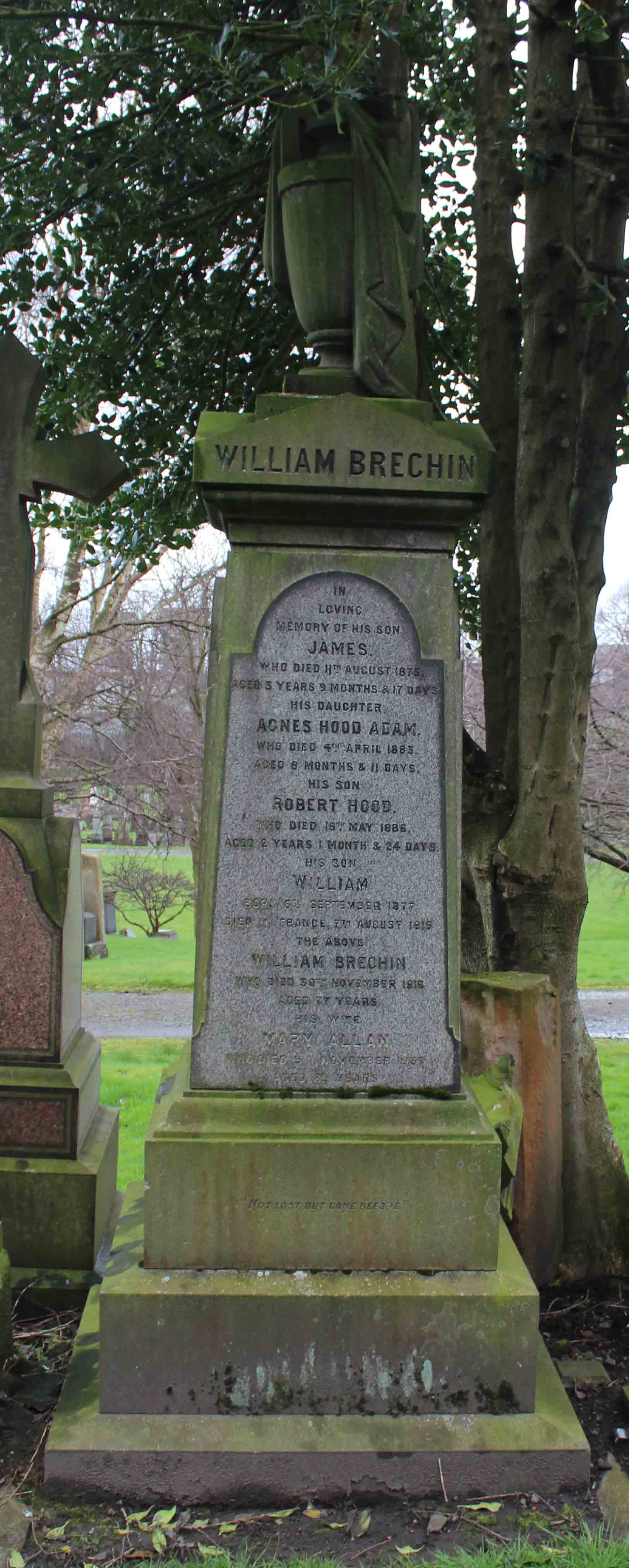 Brechin, William - Upsilon - Monument - web