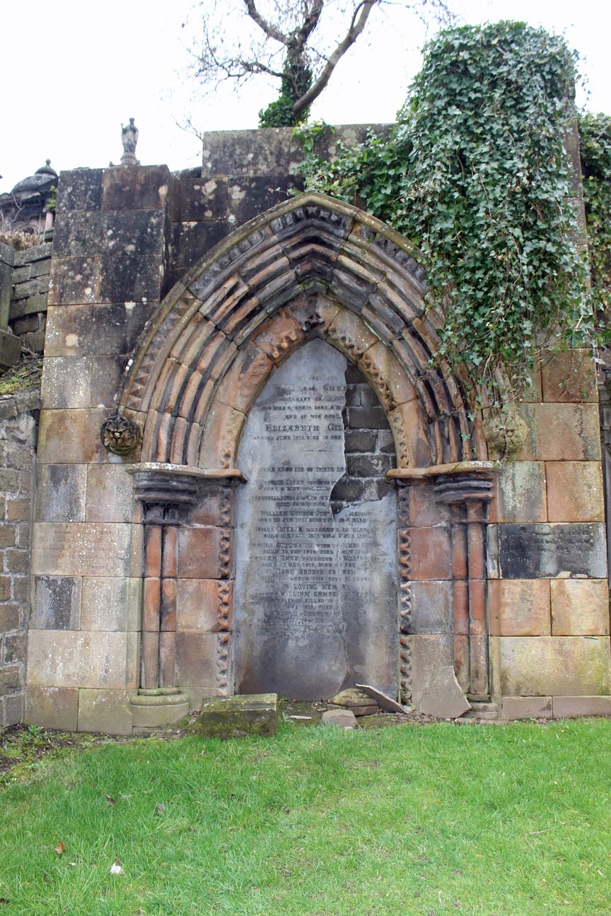 William Campbell Church - Beta Glasgow Necropolis
