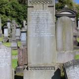George Cunningham - Monument -Secundus -
