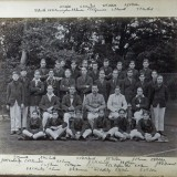 The boys of Daviesites House, Charterhouse, 1913 (John E Watson back row 3rd from right) Reproduced by permission of Charterhouse School