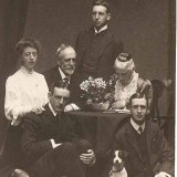 William Bruce Hope Robertson Family Group