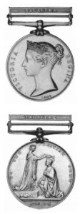 Alexander Cruikshank's Medals - Peninsula Medal with 5 clasps