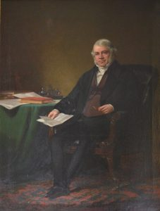 James Richardson by Sir Daniel MacNee 1858