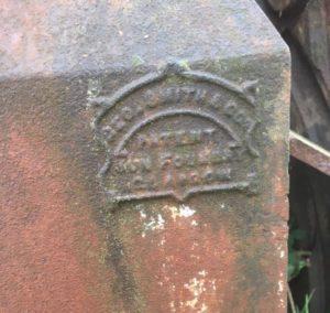 Alexander Mackenzie Monument - Sun Foundry Mark