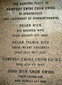 Crum Ewing Memorial Panel