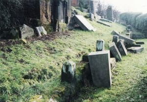 Andrew Harper's toppled memorial location 2002