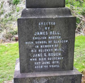 Jane Rough Inscription